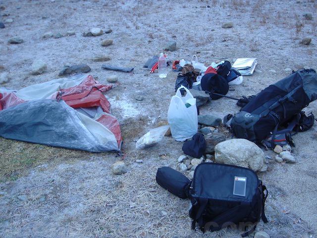 初めてのテント泊のやり方と一日の流れ 登山自転車旅アウトドア 画像