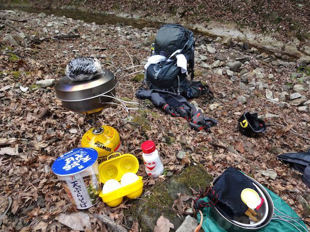 登山やキャンプにおすすめの卵ケース/エッグホルダー 卵は命 画像