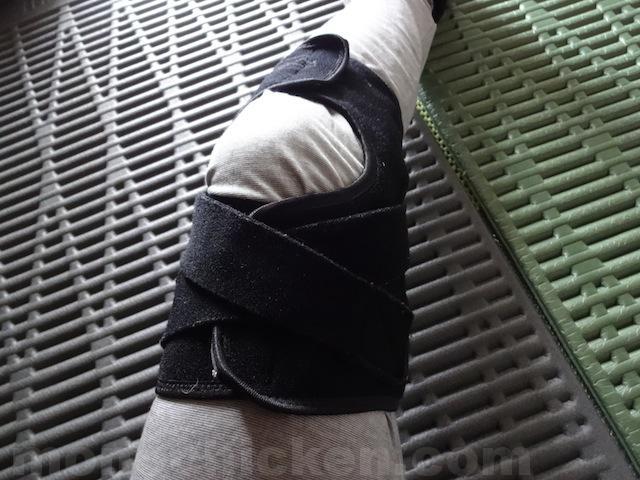 登山時の膝痛/膝の痛みにミズノの「登山用膝サポーター」 おすすめかどうかはわからないけどまた安心して山に行けるようになった 画像