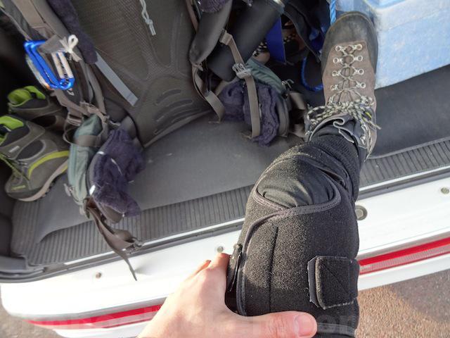 膝サポーター ザムスト/リガード/ミズノ 比較まとめ 登山時の膝痛/膝の痛みにはどの膝サポーターがいい? 画像