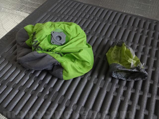 登山/アウトドアの枕 シートゥーサミット SEA TO SUMMIT エアロピロー Aeros Pillow その2「空気を入れるタイプの枕・ウレタン無し」 画像