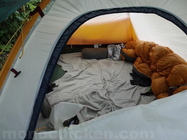家で寝袋で寝る/家でテントマットで寝る暮らし約730日(二年)が過ぎ三年目突入→五年目突入 約1850日 画像