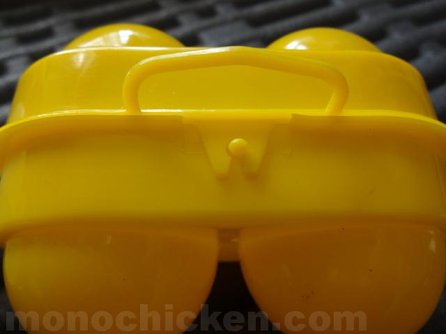 「ロゴス トレックエッグホルダー」 vs 「コフラン 2エッグホルダー」 画像