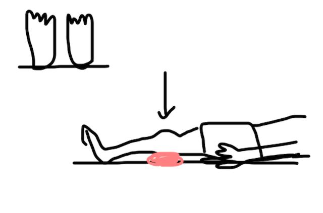 家で寝袋とテントマットで寝る暮らしと「膝」との関係 画像