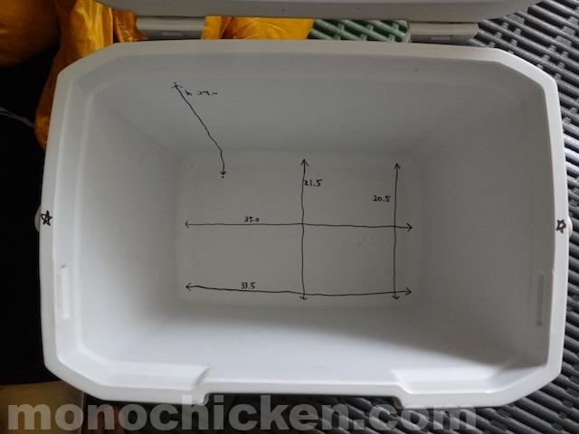 コールマンのクーラーボックス エクストリームクーラー28QTの内寸と容量で気になるところについて 画像22枚 画像