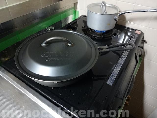【スキレット炊飯】何かと使えるスキレット10で米を炊いたらどうなったか スキレット10インチ/ユニフレーム 〜家レポ〜 画像