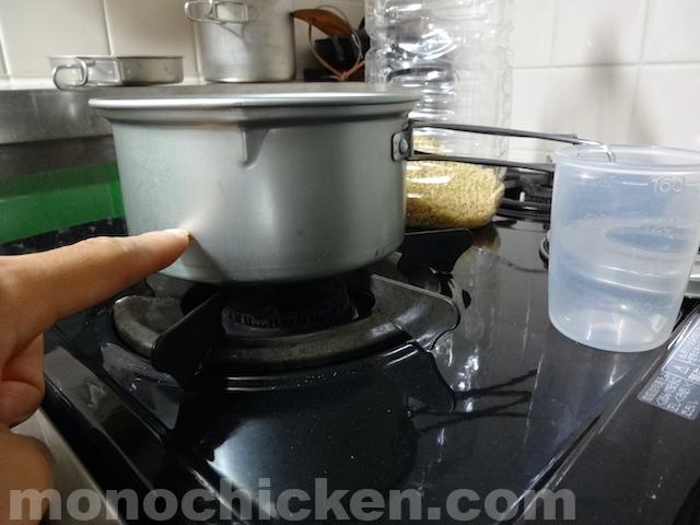 このクッカーで何合の炊飯ができるのか? どんなクッカーでも適量のご飯が作れる知っておきたい「1/3以下」とは 画像